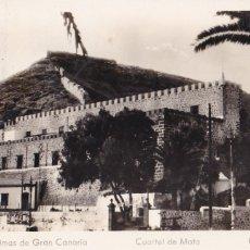 Cartoline: LAS PALMAS DE GRAN CANARIA, CUARTEL DE MATA. ED. ARRIBAS Nº 45. CIRCULADA. Lote 285748603