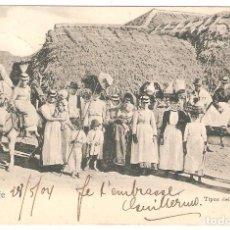 Cartes Postales: TENERIFE.TIPOS DEL PAÍS. EN REVERSO MATASELLO DEUTSCHE LINE HAMBURG SUDAMERIKA. Lote 286470713