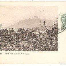 Cartes Postales: TENERIFE. JCOD CON EL PICO DEL TEIDE.. Lote 286472373