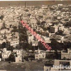 Postales: POSTAL FOTOGRAFICA, VISTA AEREA DE TENERIFE, FOT. A.BENITEZ, RARA. Lote 287208598
