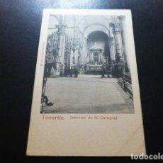Postales: TENERIFE INTERIOR DE LA CATEDRAL. Lote 287230798