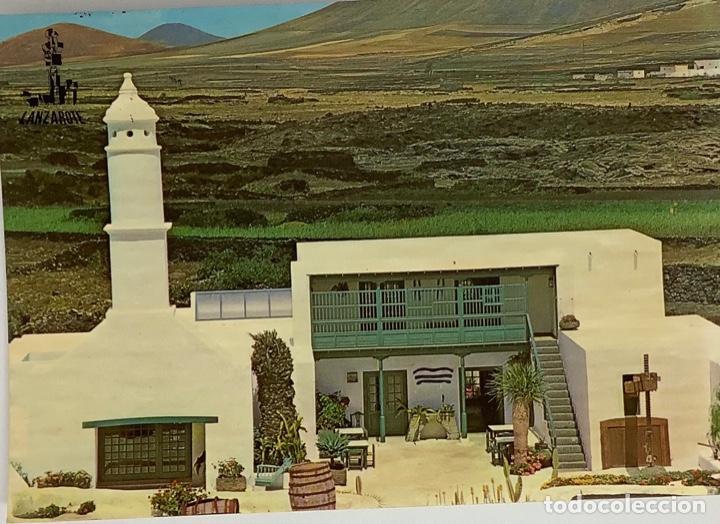 LANZAROTE, CASA DEL CAMPESINO. FOTO GABRIEL. CIRC (Postales - España - Canarias Moderna (desde 1940))