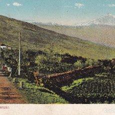 Postales: CANARIAS TENERIFE EL TEIDE DESDE LA MATANZA. Lote 288328763