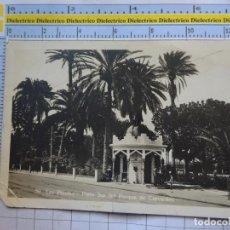 Postales: POSTAL DE GRAN CANARIA. AÑOS 30 50. LAS PALMAS PARTE SUR DEL PARQUE DE CERVANTES. BAZAR ALEMAN. 552. Lote 288510333