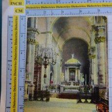 Postales: POSTAL DE GRAN CANARIA. AÑOS 10 30. LAS PALMAS INTERIOR DE LA CATEDRAL 35 PERESTRELLO. 553. Lote 288510553