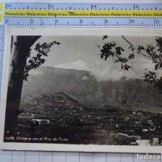 Postales: POSTAL DE TENERIFE. AÑOS 30 50. VALLE OROTAVA CON EL PICO DE TEIDE BAENA. 905. Lote 289453313