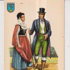 Postales: POSTAL DE TRAJE DE LA PALMA GRAN CANARIAS EDITO ISLAS SIN CIRCULAR. Lote 289589138