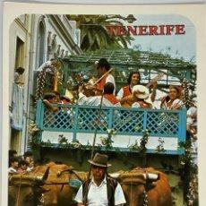 Cartoline: TENERIFE, ROMERÍA. MOTIVO TÍPICO. GARCÍA Y CORREA. SIN CIRCULAR.. Lote 291943643
