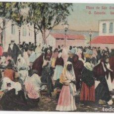 Postales: POSTAL- LAS PALMAS- PLAZA DE SAN GREGORIO- TELDE. Lote 294576253