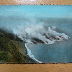 Postales: LA PALMA TENERIFE PENETRACION LAVA AL MAR.VOLCAN SAN JUAN 1949.. Lote 294952933
