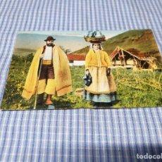 Postales: POSTAL ANTIGUA CANARIAS. SANTA CRUZ DE TENERIFE. CAMPESINOS. Lote 295346103