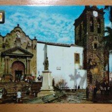 Postales: SANTA CRUZ DE LA PALMA, IGLESIA DE SAN SALVADOR EN LA PLAZA DE ESPAÑA.. Lote 295514498