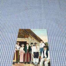 Postales: POSTAL ANTIGUA CANARIAS. SANTA CRUZ DE TENERIFE. LAGUNA. FAMILIA CAMPESINA. Lote 295520323