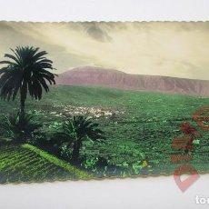 Postales: VALLE DE LA OROTAVA SANTA CRUZ DE TENERIFE - AÑOS 50. Lote 295524578