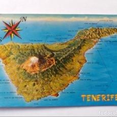 Postales: POSTAL - TENERIFE - LA MAPA - ISLA DEL SOL. Lote 295615828