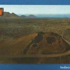 Cartoline: POSTAL SIN CIRCULAR LANZAROTE 183 TIERRAS VOLCANICAS EDITA ESCUDO DE ORO. Lote 295717793