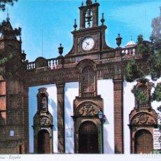 Postales: GRAN CANARIA. 0063 IGLESIA DE LA VIRGEN DEL PINO EN TEROR. IBER CROMO. NUEVA. COLOR. Lote 297095163
