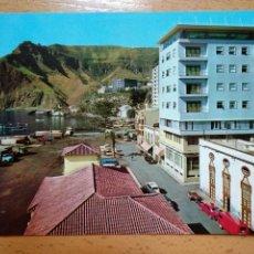 Postales: LA PALMA - SANTA CRUZ DE LA PALMA - HOTEL MAYANTIGO Y PUERTO. Lote 297265463