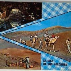 Postales: LANZAROTE, ISLA DE LOS VOLCANES. ED GASTEIZ. SIN CIRCULAR.. Lote 297266853