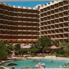 Postales: GRAN CANARIA, PLAYA DEL INGLÉS. PARKHOTEL LAS MARGARITAS. BEASCOA. CIRCULADA 1983. Lote 297267658