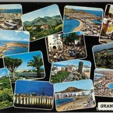 Postales: GRAN CANARIA, SOUVENIR DE LAS PALMAS. RABADÁN. ESCRITA.. Lote 297267733