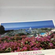 Postales: GRAN CANARIA, PUERTO RICO. TULLIO GATTI. CIRCULADA ATM.. Lote 297268043