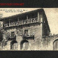 Postales: POSTAL DE SANTILLANA DEL MAR (CANTABRIA): CASA DE LOS SRES.TAGLE (FOTO MONTES, NUM.20). Lote 945254