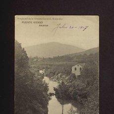 Postales: POSTAL DE PUENTE VIESGO (CANTABRIA): PAISAJE (LIBR.GENERAL). Lote 3344879