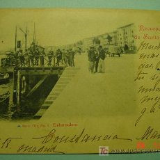 Postales: 1329 SANTANDER CANTABRIA 1899 -FECHADOR CONGRESO DIPUTADOS 1901 -MAURA POLITICO C&C. Lote 26777386