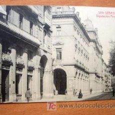 Postales: SAN SEBASTIAN - DIPUTACIÓN PROVINCIAL - 2280 FOTOTIPIA THOMAS - BARCELONA - P. SIGLO XX. Lote 23220414