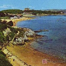 Postales: SANTANDER. PLAYA DE LA MAGDALENA Y PALACIO.. Lote 4625738