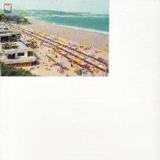 Postales: POSTAL DE CANTABRIA.SANTANDER. SARDINERO-PLAYA.CIRCULADA. Lote 22751806