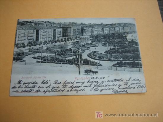 SANTANDER 13-10-1926 (Postales - España - Cantabria Antigua (hasta 1.939))