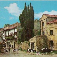 Postales: 507. SANTILLANA DEL MAR (SANTANDER). CALLE DEL CANTÓN. 1977. A. BUSTAMANTE HURTADO. TORRELAVEGA.. Lote 6532929
