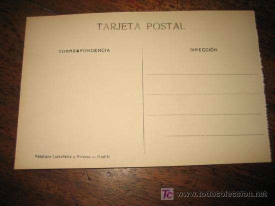 Postales: SANTANDER REAL PALACIO DE LA MAGDALENA FOTOTIPIA CASTAÑEIRA Y ALVAREZ - Foto 2 - 6554659