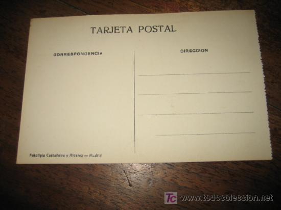 Postales: SANTANDER VISTA PARCIAL DEL PALACIO REAL FOTOTIPIA CASTAÑEIRA Y ALVAREZ - Foto 2 - 6554819