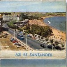 Postales: SANTANDER. PRECIOSA MINITIRA DE POSTALES. Lote 6691245