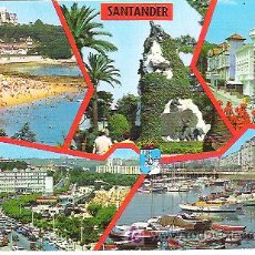 Postales: SANTANDER SERIE 106 N 55 *** ZERKOWITZ *** CIRCULADA 1971. Lote 6904638