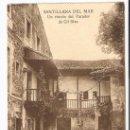 Postales: TARJETA POSTAL DE SANTILLANA DEL MAR. SANTANDER. UN RINCON DEL PARADOR DE GIL BLAS. . Lote 7127943