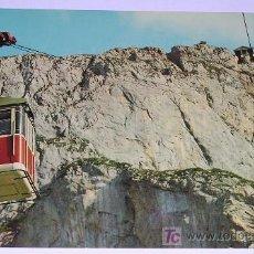 Postales: TELEFERICO Y MIRADOR DEL CABLE DE LIEBANA * HERACLIO FOURNIER * AÑO 1969!!! NUEVA!!. Lote 7228593