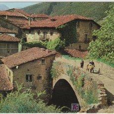 Postales: POSTAL DE SANTANDER Nº21, POTES, PUENTE DE SAN CAYETANO. Lote 7504935