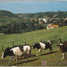 Postales: POSTAL DE SANTANDER Nº1, SOLARES, VISTA DESDE VALDECILLA. Lote 7504958