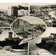 Postales: SANTANDER, CINCO VISTAS, P21876. Lote 25238119