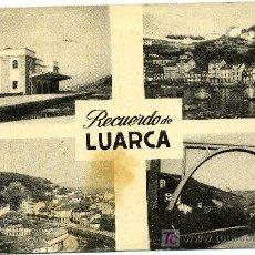 Postales: LUARCA ESTACION DEL FERROCARRIL- ED. CASA VICTORERO. Lote 26319876