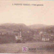 Postales: POSTAL DE PUENTE VIESGO Nº1, VISTA GENERAL. Lote 7913356