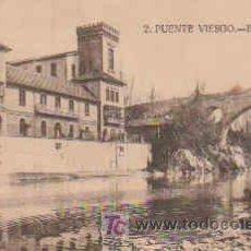 Postales: POSTAL DE PUENTE VIESGO Nº2, BALNEARIO Y PUENTE, CIRCULADA. Lote 10492823