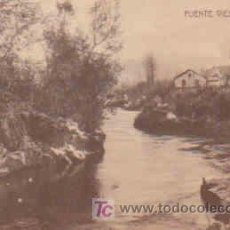 Postales: POSTAL DE PUENTE VIESGO, PAISAJE, CIRCULADA. Lote 7913393