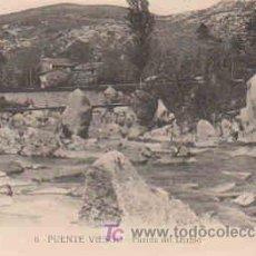 Postales: POSTAL DE PUENTE VIESGO Nº6, PUENTE DEL DIABLO. Lote 7913410