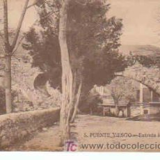 Postales: POSTAL DE PUENTE VIESGO Nº5, ENTRADA AL BALNEARIO. Lote 7913419