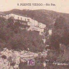 Postales: POSTAL DE PUENTE VIESGO Nº9, RIO PAS. Lote 7913436